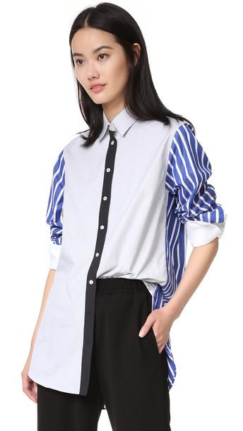 Joseph shirt dark blue dark blue top