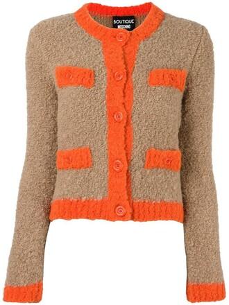 cardigan women wool brown sweater
