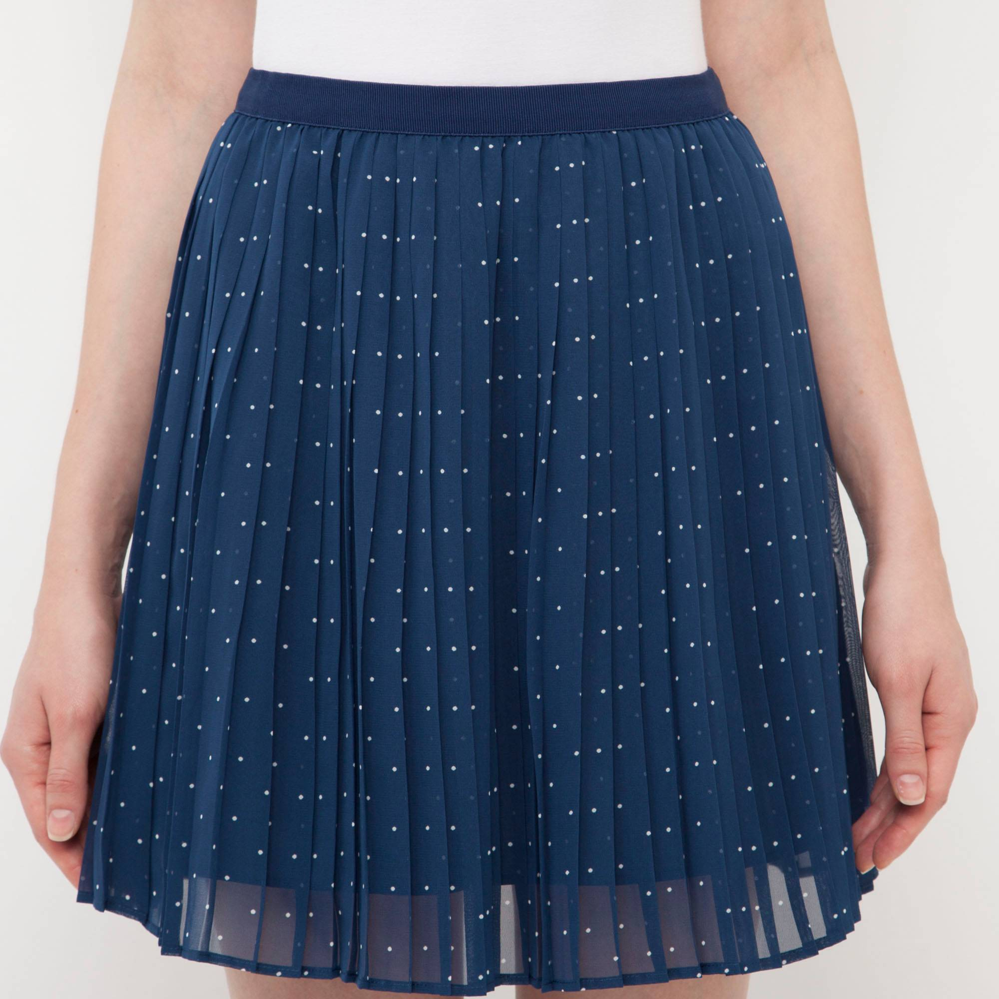 WOMEN CHIFFON PLEATED PRINT MINI SKIRT | UNIQLO