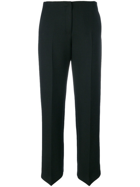 Mm6 Maison Margiela women spandex black wool pants