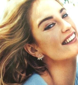 jewels silver stud earrings delicate spiked stud earrings