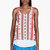 altuzarra red crepe de chine romanian printed tank top