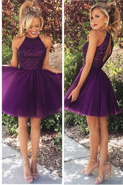 9db4d48b66d dress free shipping short homecoming dress purple homecoming dresses  cocktail dress graduation dresses open back hoecoming