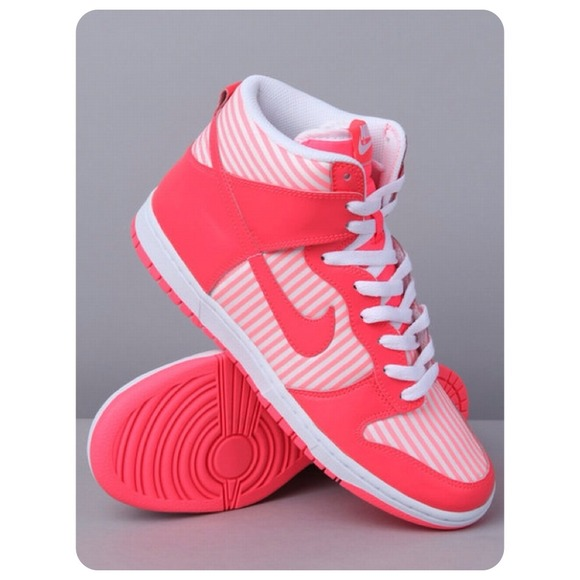50% off Nike Shoes - Nike hi womens dunk skinny stripe high-tops NEW from  Pharen's closet on Poshmark