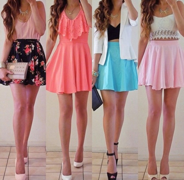Cute Dressy Skirt Outfits