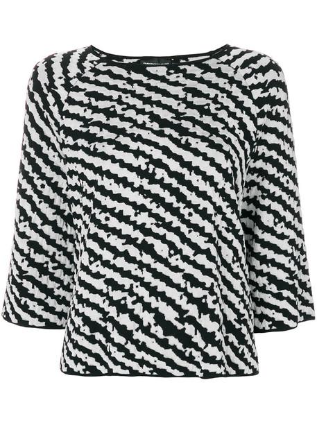 Emporio Armani top women knit