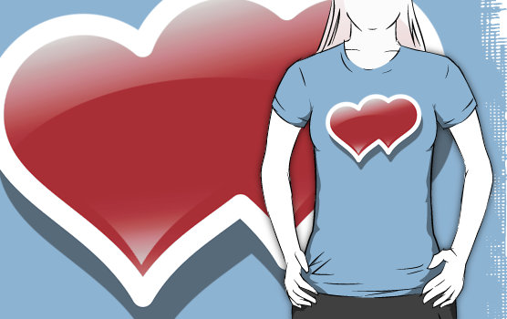 """TWINHEARTS 2 "" T-Shirts & Hoodies by karmadesigner 