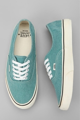 shoes vans sneakers vans authentic blue washed