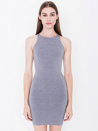 6cb86b484948 Cotton Spandex Sleeveless Mini Dress