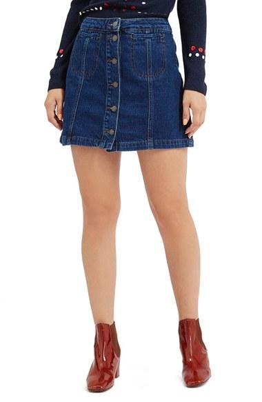 Nordstrom Jean Skirt