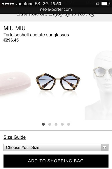 sunglasses miu miu geometric miranda kerr