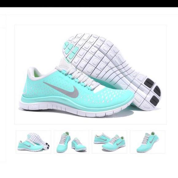 tiffany tiffany blue nikes tiffany blue running shoes tiffany&co nike running shoes nike free run sportswear sports shoes nike sneakers nike sportswear nike