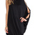 Hot Sale One Sleeve Round Neck Black Dress