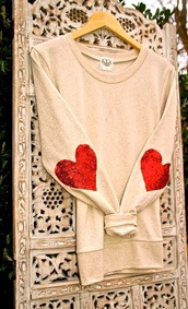 heart sequin,cardigan,sweater,heart sweater,red,heart,top,nude,glitter,long sleeves