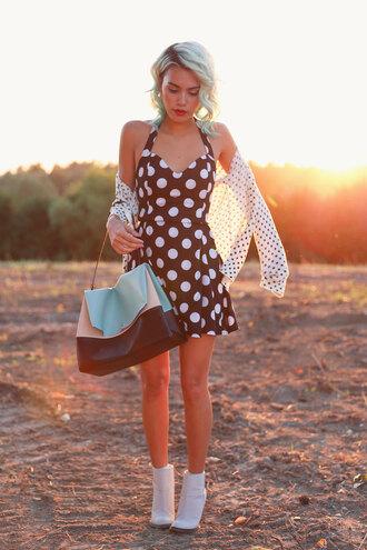 romper dress pretty girly trendy cute summer spring fashion polka dots feminine