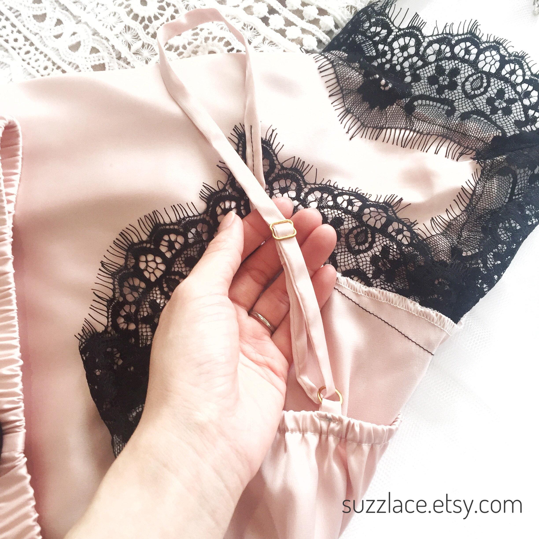 Bridal, Bridemaids, Lingerie, Pajamas, Pyjamas, Lingerie Set, Bridal Lingerie, Silk, Satin, Lace, Bridal PJS Set, Bridal Gift, Pyjamas Set