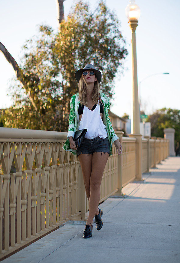 sunglasses jacket bag shoes