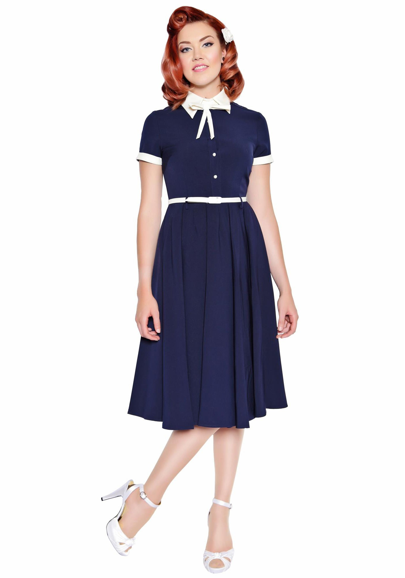 The headstrong independent vintage woman dress