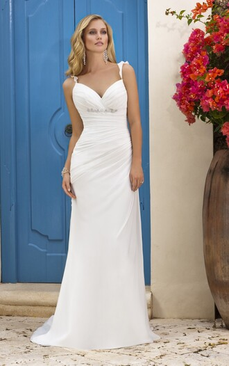 dress wedding dress wedding clothes beach wedding dress prom dress