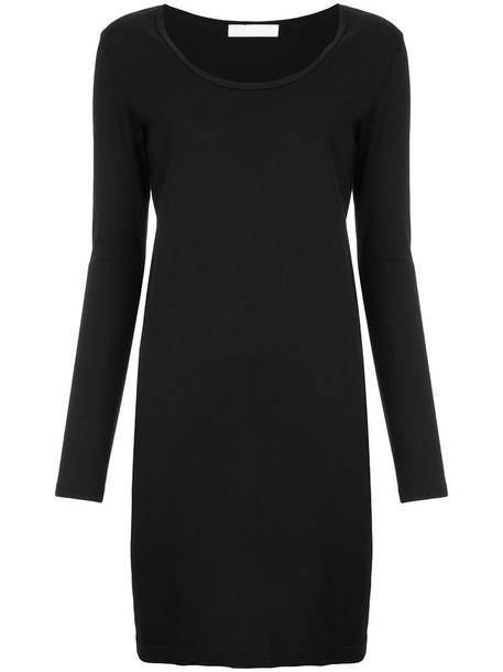 Roarguns dress shift dress women cotton black