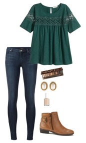blouse,green top,short sleeve