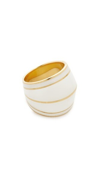 ring gold white jewels