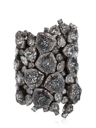 cuff cuff bracelet black jewels