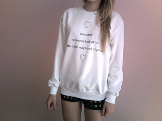 sweater sweater/sweatshirt t-shirt top oversized t-shirt oversized sweater pizza shirt pizza pizza sweatshirt lovely girly cute tumblr tumblr girl tumblr outfit tumblr sweater crewneck jewels
