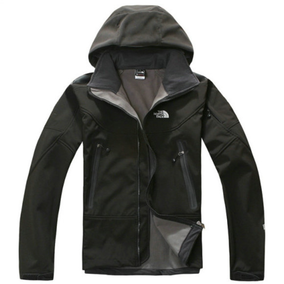 black jacket men 2013 windstopper jacket the north face