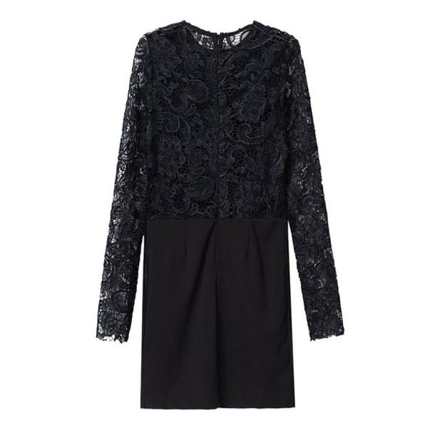 lace dress sexy dress crochet little black dress faux leather
