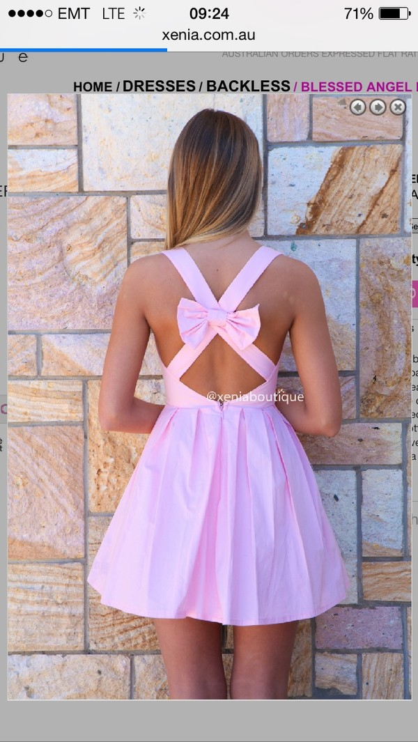 dress bow cute