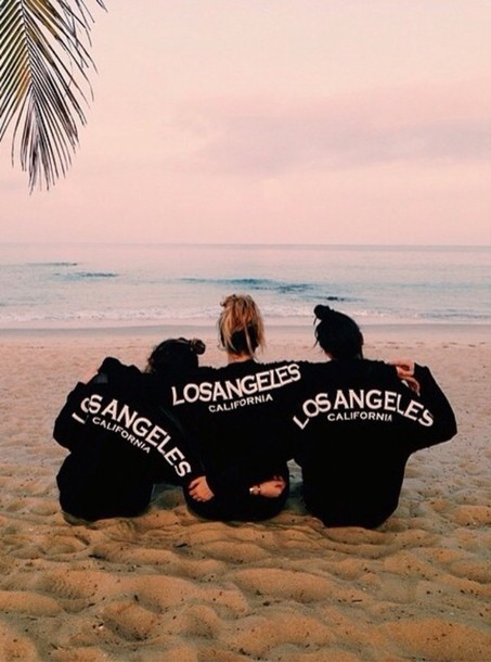 Sweater California Tumblr Instagram Los