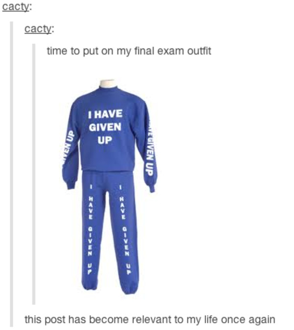 sweater blue sexy crewneck pants i give up sweat pants i give up sweater exam week outfit exam week pajamas i have given up sweats hoodie funny jumpsuit funny purple sweats i give u cozy back to school quote on it funny complete tracksuit blue sweater