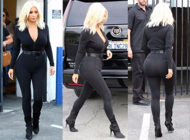 Kim Kardashian Pants June 2017