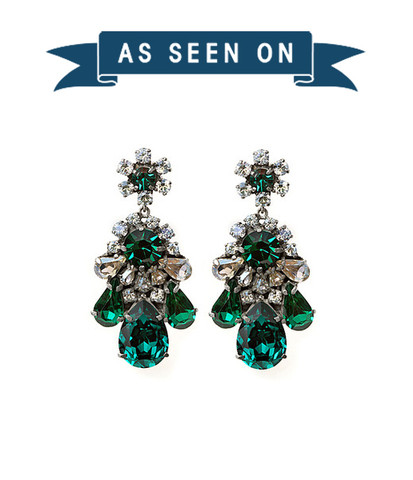 Caratime · emerald earrings