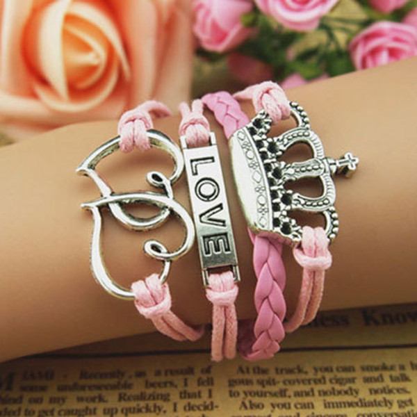 jewels bracelets cute pink