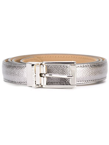 Dolce & Gabbana classic belt metallic