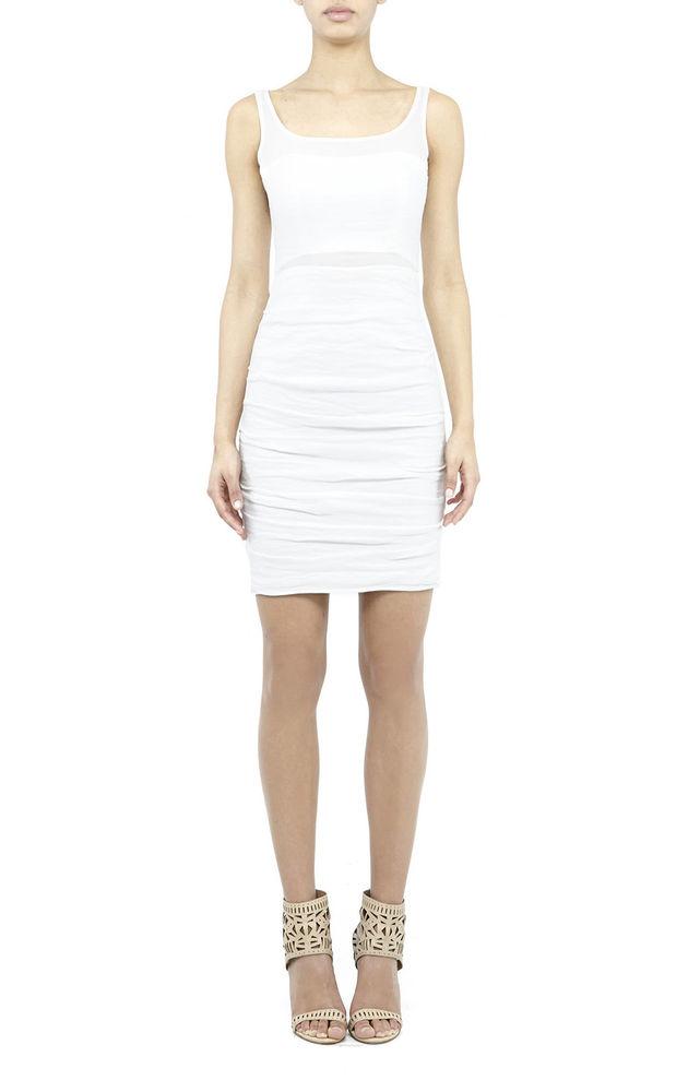 Nicole Miller Jane Cotton Metal Dress
