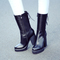 Chiko iside lace up chunky heel boots