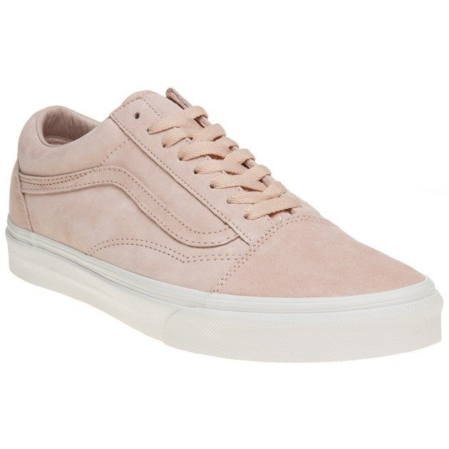 24a375b7b1 New Mens Vans Pink Old Skool Suede Trainers Plimsolls Lace Up