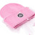 MESH BOW BEANIE (BABY PINK) | Silver Spoon Attire
