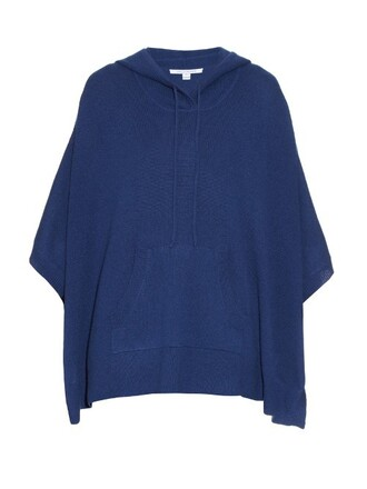 poncho navy top