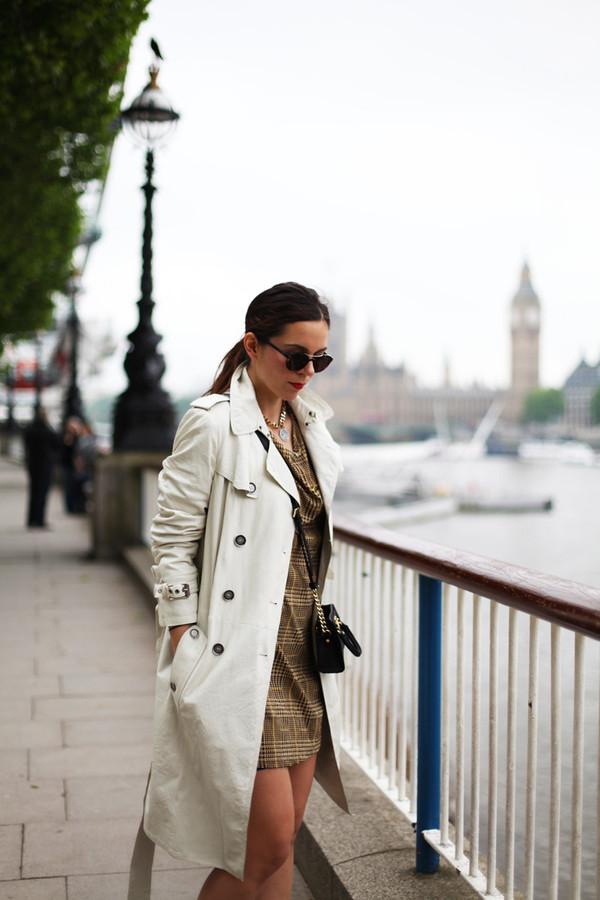 irene closet coat dress bag sunglasses shoes