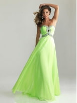Buy Stunning A-line Sweetheart Floor Length Prom Dress with Rhinestones  under 300-SinoAnt.com
