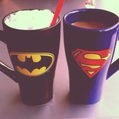mug,batman,grunge wishlist,jewels,bag,nail accessories,t-shirt,superman,phone cover,home accessory,kitchen,tights,nice,gloves,batman cup,superman cup,batman mug,superman mug,cup