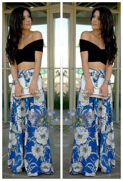 t-shirt sixkisses women fashion sexy floral pants