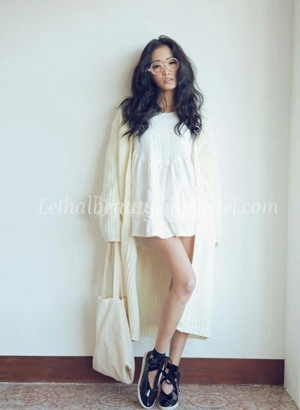 Lethalbeauty ? long knit cardigan