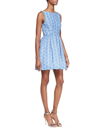 Alice   Olivia Lillyanna Printed Floral Dress - Bergdorf Goodman
