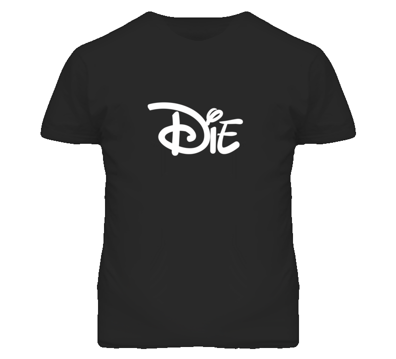 Die Popular Cartoon Movie Graphic T Shirt