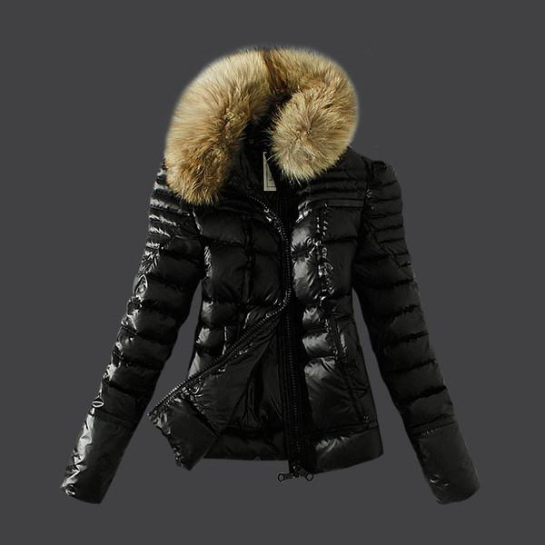 jacket beautiful black doudoune doudoune veste chaude fashion clothes fourrure down jacket